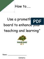 Promethean Booklet