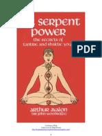Kundalini, Yoga, Tantra, Etc_Arthur Avalon - O Poder Da Serpente_pt-Br