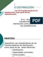 4.4 Redes de Distribución Disposiciones de Montaje Transform