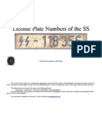 SS License Plates