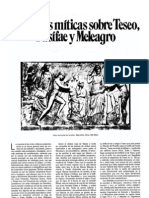 Variantes míticas sobre Teseo, Pasífae y Meleagro