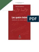 Les Quatre Imams Fondateurs Des Ecoles Sunnites de Messaoud Boudjenoun
