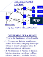 Modelamiento y Toma de Decisiones Vol 1