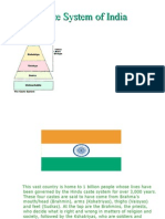 Caste System of India
