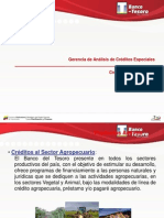 PRESENTACION PRODUCTOS AGROPECUARIOS 2012