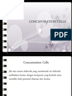 Concentration Cell