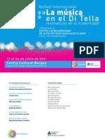 La Musica en El Di Tella CLAEM Programa Completo