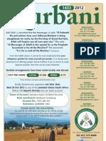 Qurbani 1433/2012