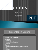 Borates Presentation