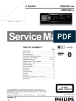 Service Manual Audio Car Philips CEM250-55