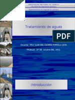 AGUAS RESIDUALES  INTRODUCCIÒN Y CARACTERIZACION 11-11