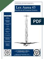 Lex Aurea n.43 Jung e l' Alchimia