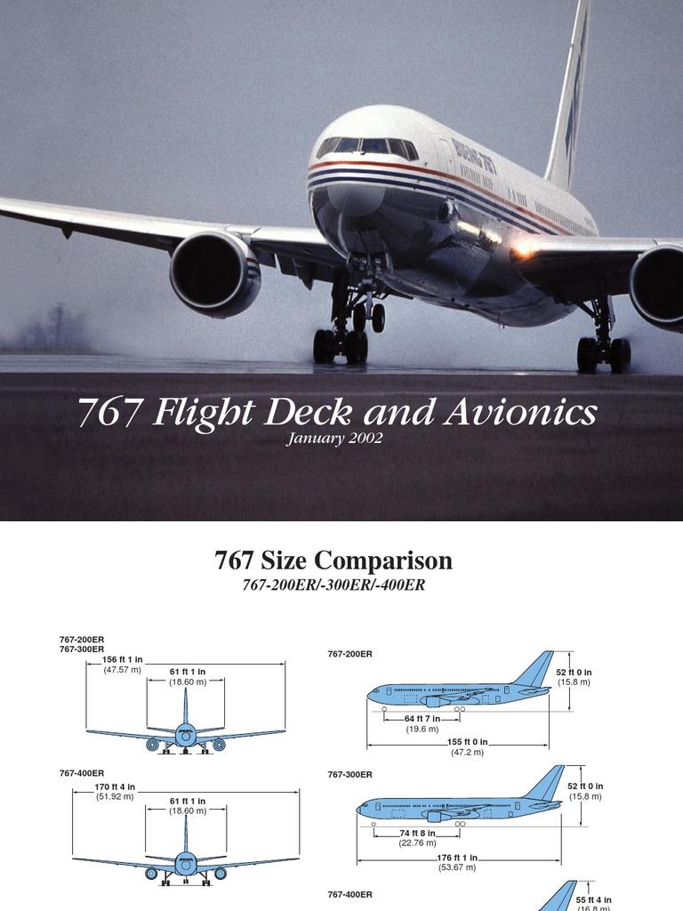 b767 flightdeck and avionics aircraft aviation rh es scribd com