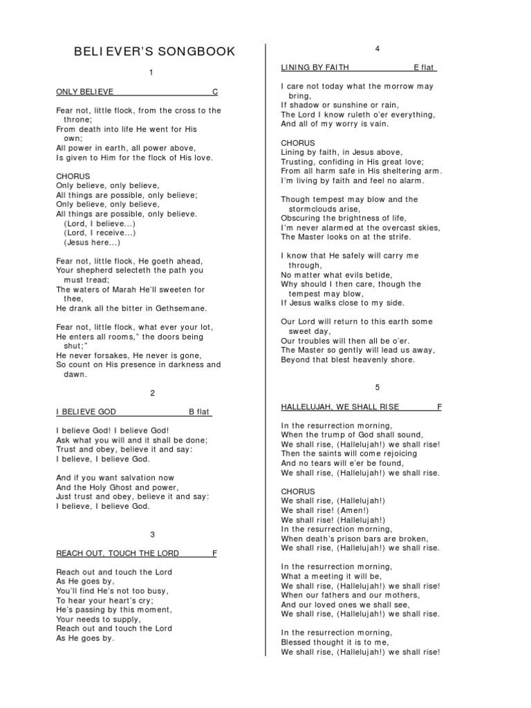 Believers song 479 songs amen jesus hexwebz Image collections