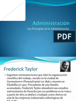 Clase 3 Principios de la administración