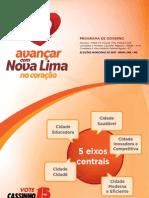Programa de Governo Completo. Avançar com Nova Lima no Coração