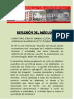 REFLEXIONES DEL MÓDULO IX francisco