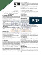 PETRO FILL-RITE 900 Series Meter Owner Manual