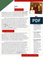 Ministry October 2012 Newsletter