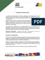 Ciudadano Digital Nivel1 Leccion1