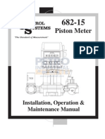 PETRO TCS 682 Series Piston Meter Operations Manual