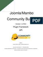Joomlapolis CB1.1 API Guide