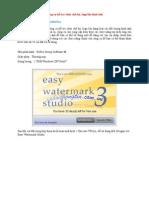 Công cụ hỗ trợ chèn chữ ký, logo lên hình ảnh