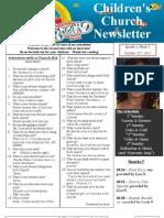Newsletter 10-21-12