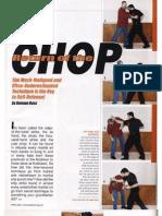 Return of the Chop - Damian Ross, April 2009
