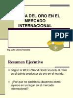 La Joyeria de Oro en El Mercado Internacional