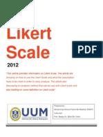 Likert Scale [Muhammad Amirrul Fahmi Bin Mukhtar]
