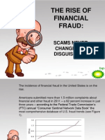 The Rise of Financial Fraud Scams Never Change but Disguises Do