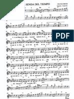 Celtas Cortos.la Senda Del Tiempo.partituras C-Eb-Bb y Letra