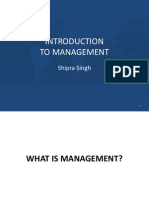1. Intro to Mgt