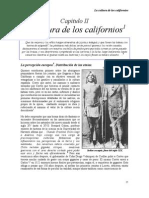 6 La Cultura De Los Californios Ii Pueblos Indígenas De