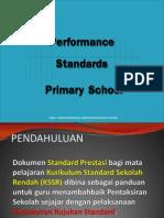 Performance Standard Primary School