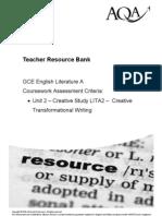 LITA2 Transformative Writing Criteria
