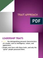 2.Trait Theory