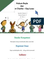 Hukum Boyle Dan Charles - Gay Lusac