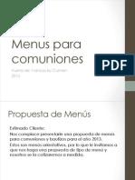 Dossier Comuniones 2013