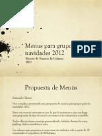 Dossier Navidad 2012