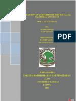 Kolokium-Isolasi Senyawa Triterpenoid Dari Biji Cucurbita Pepo Sebagai Anti-ulcer