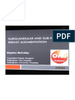 Sublglandular and Sub-fascial Breast Augmentation