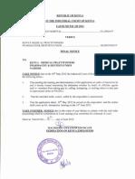 Court Order to KMPDU - Getrudes Strike