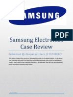 Samsung Electronics Case Review
