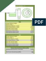 Press Fit Pressure Calculator