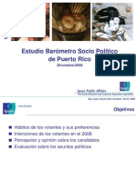 Encuesta Gobernaci n 2008