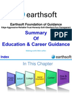 4-E-Earthsoft- Education and Career Guidance- Summary