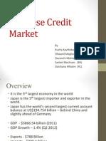 Japanese Credit Market
