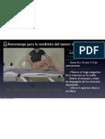 Automasaje Para La Tendinitis Del Tensor de La Fascia Lata